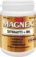 Kuva tuotteesta Magnex Sitraatti + B6-vitamiini
