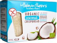 Kuva tuotteesta Le Pain des Fleurs Luomu Gluteeniton Näkkileipä Riisi-Kookos