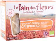 Kuva tuotteesta Le Pain des Fleurs Luomu Gluteeniton Näkkileipä Quinoa
