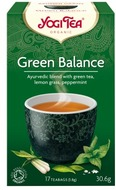 Kuva tuotteesta YogiTea Luomu Green Balance tee