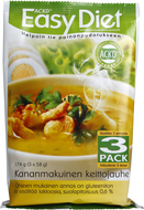 Kuva tuotteesta ACKD Easy Diet Kanakeitto 3-pack