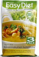 Kuva tuotteesta ACKD Easy Diet Kanakeitto 3-pack