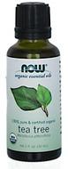 Kuva tuotteesta Now Foods Luomu Teepuuöljy