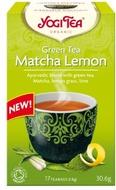 Kuva tuotteesta YogiTea Luomu Matcha Lemon Vihreä tee