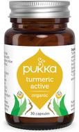 Kuva tuotteesta Pukka Turmeric Active kurkumakapselit