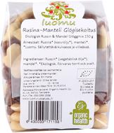 Kuva tuotteesta Organic Health Luomu Rusina-Manteli-Glögisekoitus