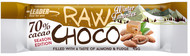 Kuva tuotteesta Leader Raw Choco Almond-Fudge