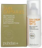 Kuva tuotteesta Puhdas+ Sun Capsules &  Sun Spray SPF 12 (parasta ennen 31.01.2017)