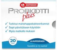 Kuva tuotteesta Bioteekin Probiootti Plus, 20 kaps