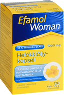 Kuva tuotteesta Efamol Woman Helokkiöljykapseli, 120 kaps