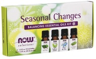 Kuva tuotteesta Now Foods Seasonal Changes Balancing Essential Oils Kit