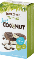 Kuva tuotteesta Nutrilett Juicy Coconut Bar 3-pack