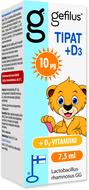 Kuva tuotteesta Gefilus Tipat + D3-vitamiini