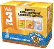Kuva tuotteesta Vida 3-pack