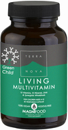 Kuva tuotteesta Terranova Green Child Living Multivitamin, 50 kaps