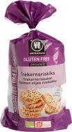 Kuva tuotteesta Urtekram Gluteeniton Luomu Kolmen viljan riisikakku