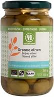 Kuva tuotteesta Urtekram Luomu Vihreät oliivit