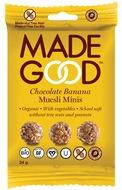 Kuva tuotteesta MadeGood Gluteeniton Luomu Granolapallot Suklaa-Banaani