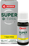 Kuva tuotteesta Bioteekin Super D-tippa