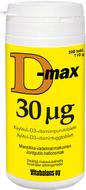 Kuva tuotteesta D-Max 30 mikrog (parasta ennen 30.09.2017)