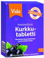 Kuva tuotteesta Vida Kurkkutabletti Mustaherukka