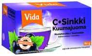 Kuva tuotteesta Vida C+Sinkki Kuumajuoma Mustaherukka