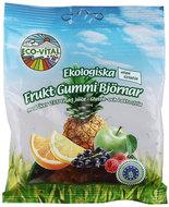 Kuva tuotteesta Eco-Vital Gluteeniton Luomu Nallekarkit