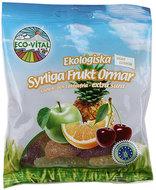 Kuva tuotteesta Eco-Vital Gluteeniton Luomu Hapokkaat Hedelmäkäärmeet