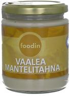 Kuva tuotteesta Foodin Luomu Vaalea Mantelitahna (parasta ennen 31.03.2017)