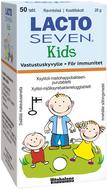 Kuva tuotteesta Lacto Seven Kids Maitohappobakteeri, 50 tabl.
