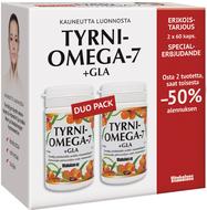 Kuva tuotteesta Tyrni-Omega-7 + GLA Tuplapakkaus