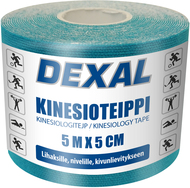 Kuva tuotteesta Dexal Kinesioteippi Sininen