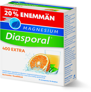 Kuva tuotteesta Magnesium Diasporal Extra 400 mg kampanjapakkaus