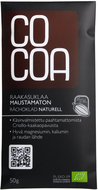 Kuva tuotteesta Cocoa Luomu Raakasuklaa 70 % (parasta ennen 21.09.2017)
