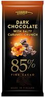 Kuva tuotteesta Leader Dark Chocolate 85 % Caramel (parasta ennen 30.09.2017)