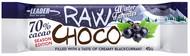 Kuva tuotteesta Leader Raw Choco Creamy Blackcurrant (parasta ennen 31.08.2017)