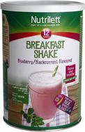Kuva tuotteesta Nutrilett Breakfast Shake Blueberry & Blackcurrant (parasta ennen 31.07.2017)