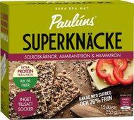Kuva tuotteesta Pauluns Supernäkkäri Auringonkukan-, amarantin- ja hampunsiemen (parasta ennen 01.09.2017)