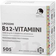 Kuva tuotteesta SOS Health Liposomi B12-vitamiini