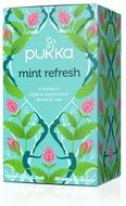 Kuva tuotteesta Pukka Luomu Mint Refresh Tee