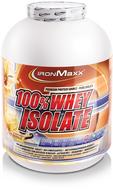 Kuva tuotteesta IronMaxx 100% Whey Isolate, Mansikka 750g