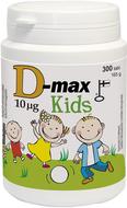 Kuva tuotteesta D-Max 10 mikrog KIDS, 300 tabl
