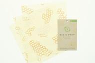 Kuva tuotteesta Bees Wrap Mehiläisvahakääre Keskikoinen 3-pack