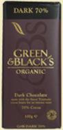 Kuva tuotteesta Green & Black Tumma suklaa, 70 %