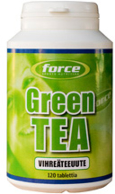 Force Green Tea vihreä tee tabletit