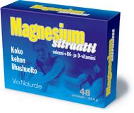 Kuva tuotteesta Magnesiumsitraatti, 48 tabl