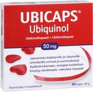 Kuva tuotteesta Ubicaps Ubiquinol 50 mg