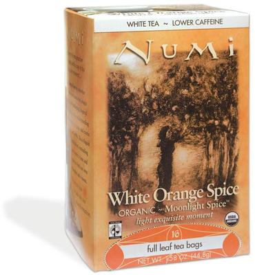 Numi White Orange Spice Luomu tee